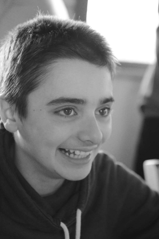 Ruggero sorride