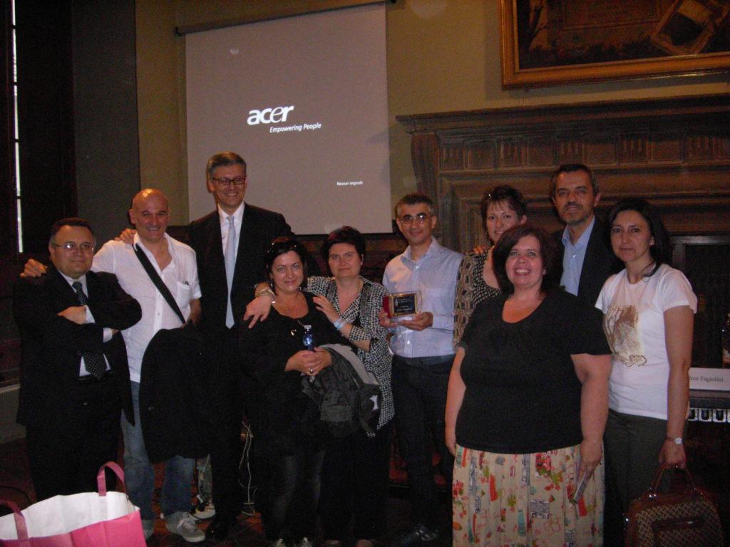 foto di gruppo delle famiglie della Associazione